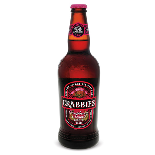 Crabbie's Scottish Raspberry Logo
