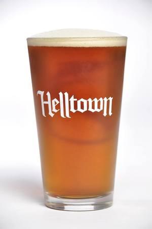 Helltown Mischievous Brown Ale Logo