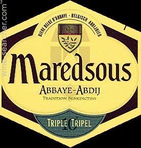 Maredsous Triple Logo