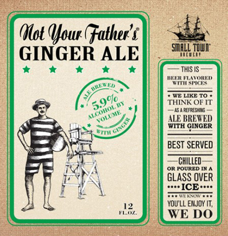 Not Your Father's Ginger Ale Logo