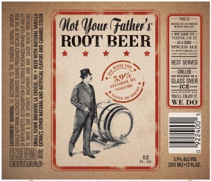 Not Your Father's Root Beer Logo