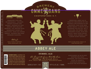 Ommegang Abbey Ale Logo