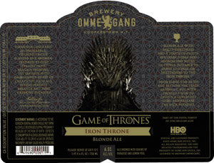 Ommegang Iron Throne Logo