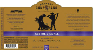 Ommegang Scythe and Sickle Logo