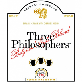 Ommegang Three Philosophers Logo