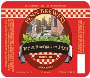 Penn Brick Biergarten IPA Logo