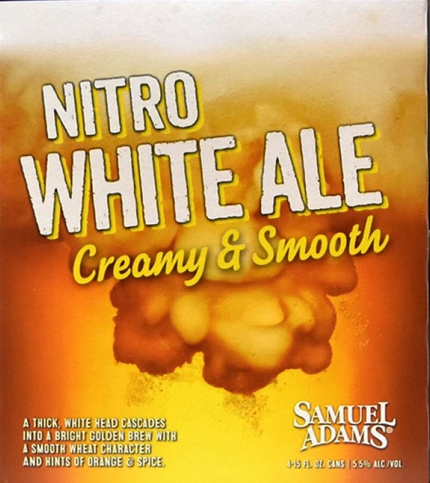 Samuel Adams Nitro White Ale Logo