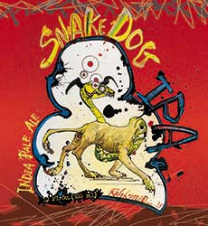 Flying Dog Snake Dog Logo