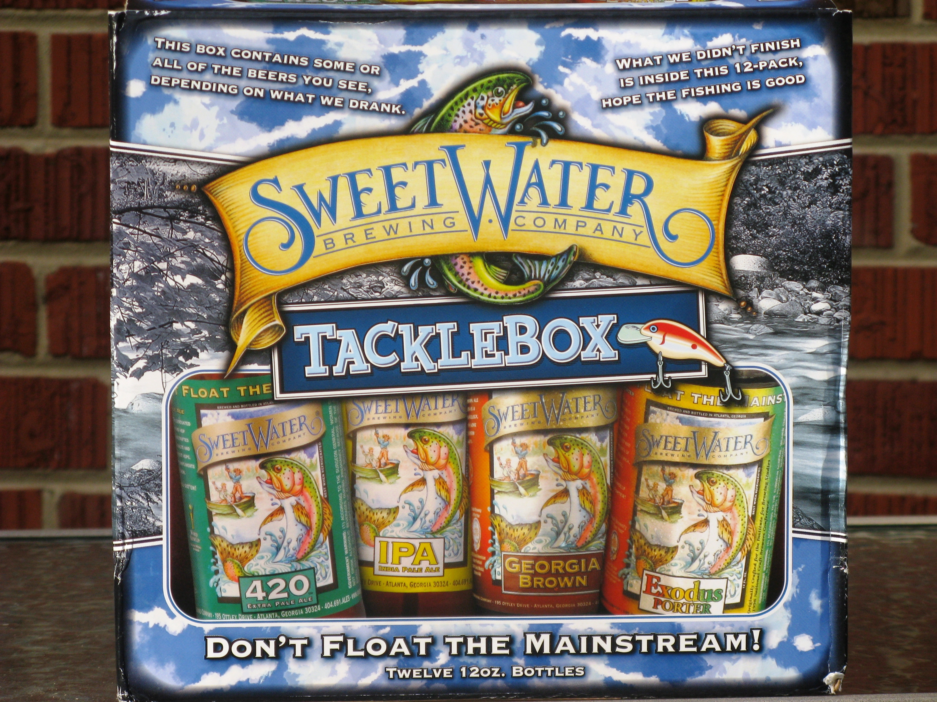 SweetWater Tackle Box Variety Pack Logo