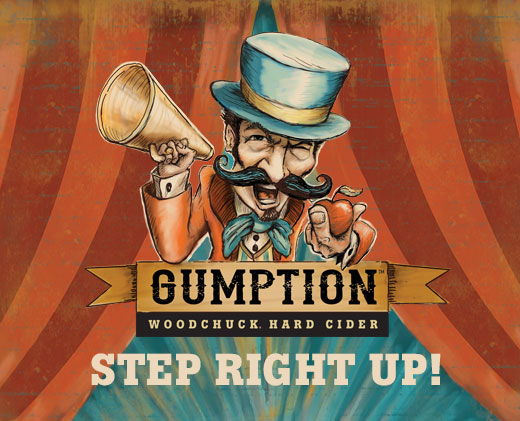Woodchuck Gumption Logo